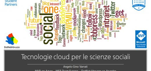 cloud-scienze sociali unich univuda machine learning azure powerbi